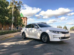 Аренда Kia Optima в водителем
