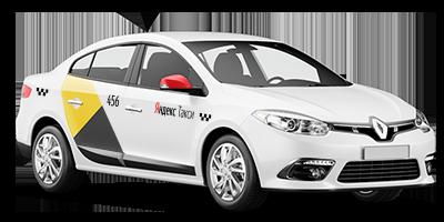 Renault Fluence Яндекс.Такси