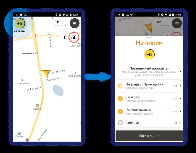 Новый приоритет в Яндекс.Такси